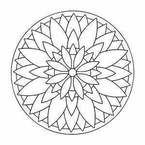 Free Mandalas page «mandala-to-color-easy-children (17 ...