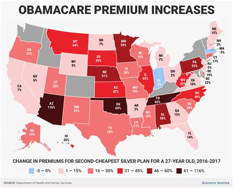 heres   obamacare premiums