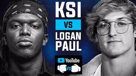 ksi  logan paul fight  time date