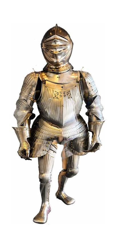 Knight Armor Metal Middle Ages Transparent Clipart