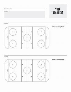 lovely hockey rink templates ideas example resume and With hockey practice plan template