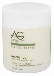 Ag Hair Cosmetics Keratin Repair Reconstruct Intense Anti