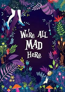 """""""We're all mad here."""" by Princess So tumblr ..."""
