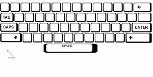 best photos of print blank computer keyboard blank With blank keyboard template printable