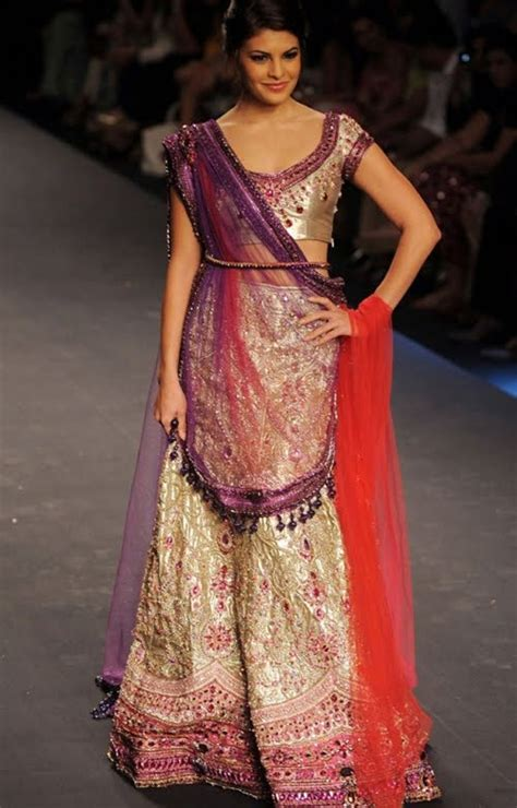Bridal Lehenga Draping - ways to drape a dupatta wedding lehenga shop