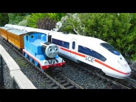 christmas thomas trains thomas and the high speed train youtube