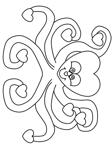 valentines day coloring pages printables printable