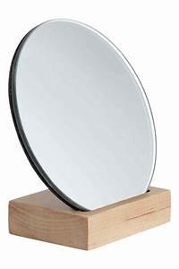 Petit Miroir Sur Pied : petit miroir rond sur pied adslev ~ Teatrodelosmanantiales.com Idées de Décoration