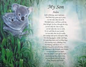 Happy Birthday My Son Poems