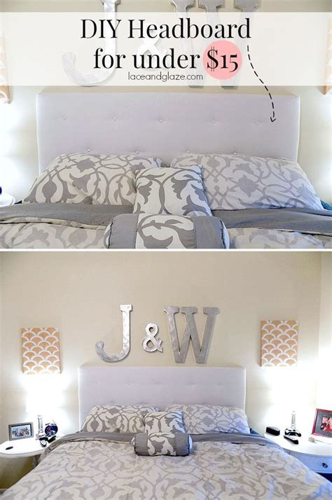 How To Make A Cheap Headboard by Diy Headboard For 15 Beds Diy Home Decor Home