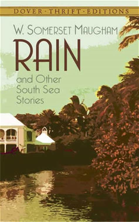 rain   south sea stories   somerset maugham