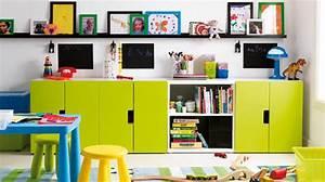 Rangement Chambre Enfant Ikea : des rangements adapt s la chambre d 39 enfant ~ Teatrodelosmanantiales.com Idées de Décoration