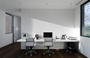Bureau Moderne Design : am nagement bureau domicile pratique 20 exemples ~ Teatrodelosmanantiales.com Idées de Décoration