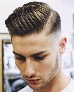 Raie Sur Le Coté Homme : coupe de cheveux pour homme les tendances capillaires automne hiver 2017 2018 obsigen ~ Melissatoandfro.com Idées de Décoration