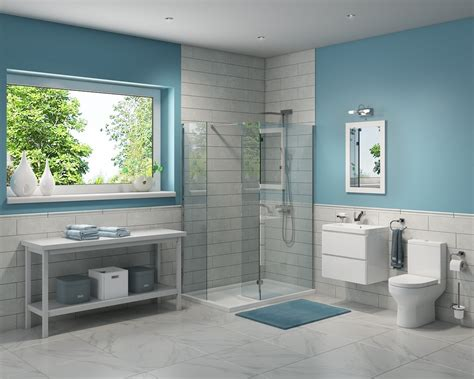 Modern Bathroom Suites-contemporary Shower Bath, Basin