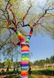 de la laine pour les arbres  kourgette