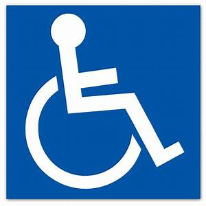 Disabled–Sticker