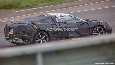 Chevy Corvette C8r Racer Spotted, Sounds Like A Twin