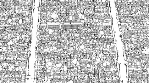 fantastic cities  coloring book  amazing places real