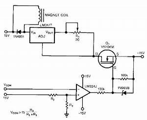 regulator current source circuit diagram With current source circuit with cw117 basiccircuit circuit diagram
