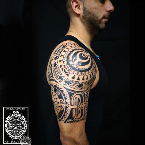 Tatouage Polynesienpolynesian Tattoo