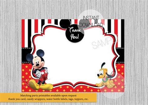 Disney Mickey Mouse Baby Shower Einladungen Mickey Baby
