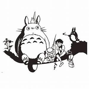Black And White Totoro Wallpaper