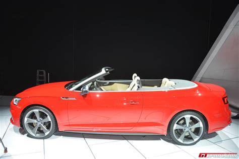 Detroit 2017 Audi S5 Cabriolet Gtspirit