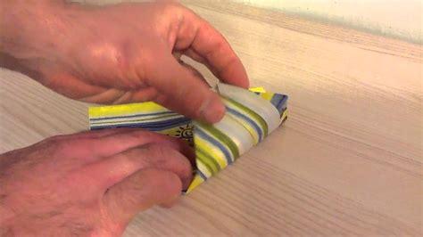 plier une serviette en sapin de no 235 l pliage arbre origami