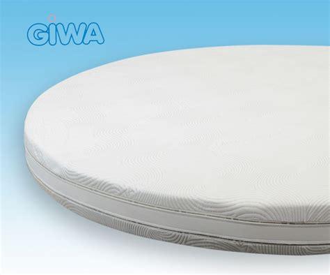 materasso rotondo materasso rotondo in memory sfoderabile h20 curve plus