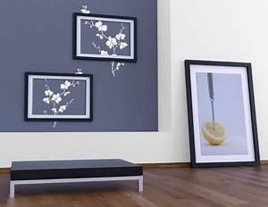 Wandtattoo Baum Mit Bilderrahmen : wandbilder aus wandtattoos und passenden accessoires wohnideen ~ Eleganceandgraceweddings.com Haus und Dekorationen