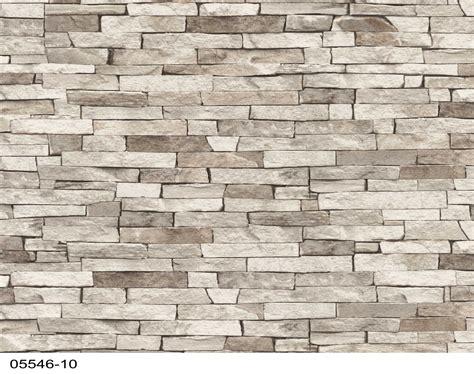 matelas canap papiers peints brique beige