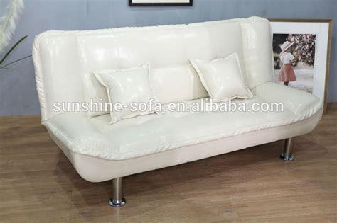 canapé pliant pliant lit canapé en cuir pas cher pour la maison