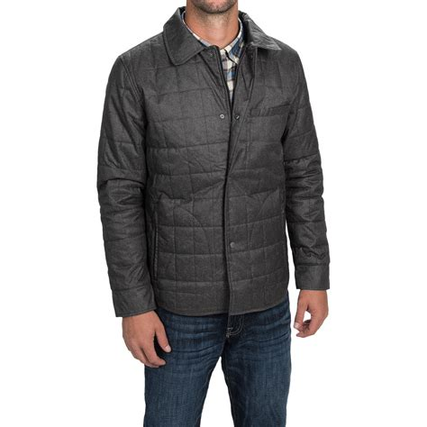 quilted shirt mens tahari quilted shirt jacket for 9648n save 88