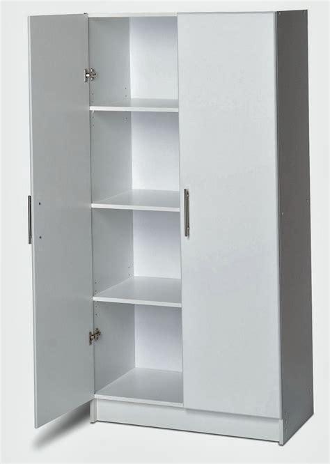 white kitchen storage cabinet