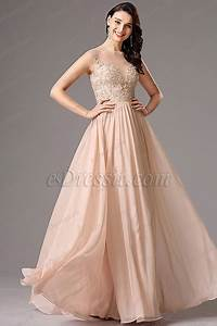 a line sleeveless peach gown with beaded embroidery 00162101 With robe peche