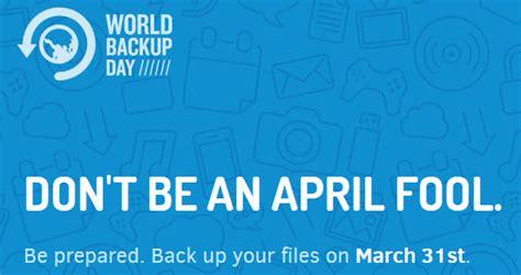 world backup day  national  international days