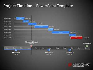 powerpoint timeline template With project milestone template ppt