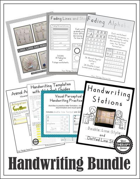 handwriting bundle  images handwriting template