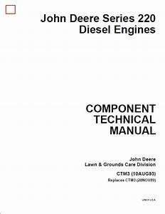 john deere series 220 diesel engines service repair With tractor wiring diagram case 646 tractor loader case 220 garden tractor