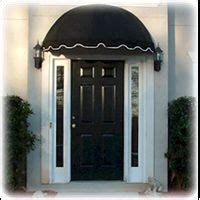 black front door awning  white trim door awnings awning  door canvas awnings