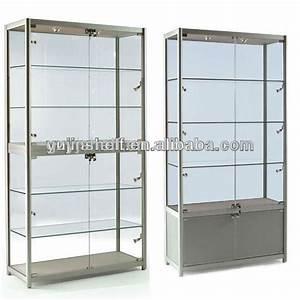New Custom Living Room Glass Showcase/boutique Glass ...