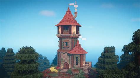 minecraft   build  wizard tower part  youtube minecraft cottage minecraft