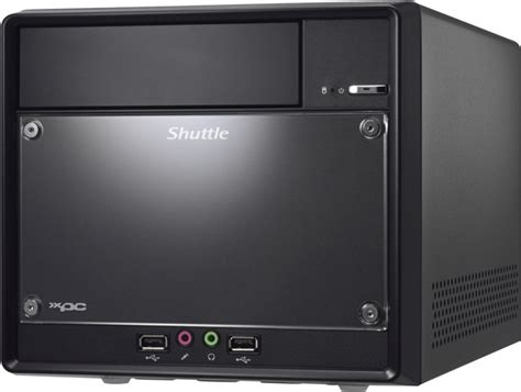mini pc de bureau ordinateur shuttle barebone business sh81r4