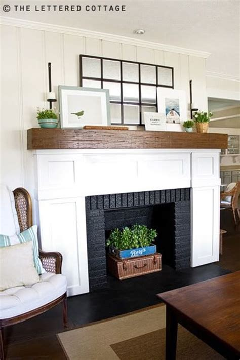 decorate inside fireplace innovative non working fireplace functions interior design