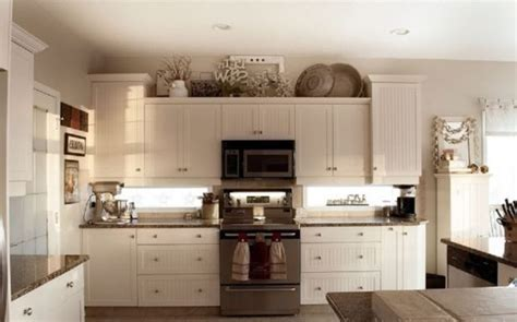 how to decorate space above kitchen cabinets 10 best ideas for modern decor above kitchen cabinets 9374