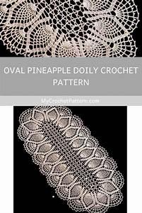 Oval Pineapple Doily Crochet Pattern  Ufe0f Mycrochetpattern In