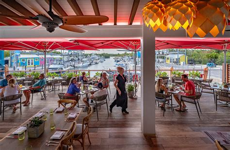 grouper square islamorada keys weekly indoors doug seating canal finger outside dining options its
