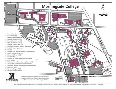 iowa conference morningside campus map
