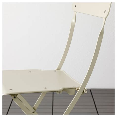 saltholmen table 4 folding chairs outdoor beige ikea